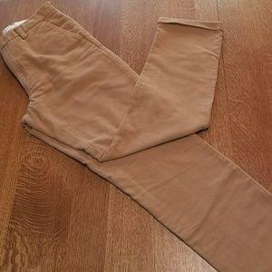 Orvis flat front cuffed moleskin pants